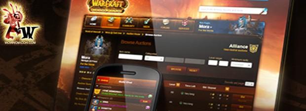 World of Warcraft ha mejorado su versión para móviles iPhone,    Ahora como en el juego cuando pones un item a al venta, por defecto sale el precio más...