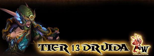 Hace menos de una hora Blizzard nos muestra los nuevos Tiers 13 de Druida.