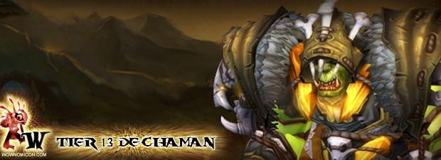 Blizzard nos muestra hoy los nuevos tiers 13 de Chaman de cara al parche 4.3   Es más que obvio que se han inspirado en la nueva estética de ofrece Thrall...