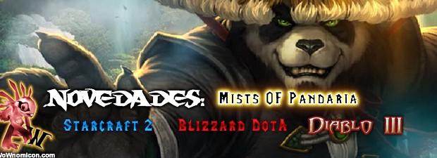 Video novedades: Mists Of Pandaria, Combate Monk (MoP), Starcraft 2, Blizzard DotA, Diablo III