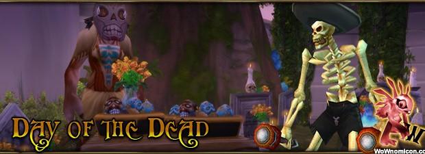 La Festividad de los muertos es un minifestival en tributo a los compañeros fallecidos y por eso sus lápidas se llenan de flores. En World of Warcraft esta festividad...