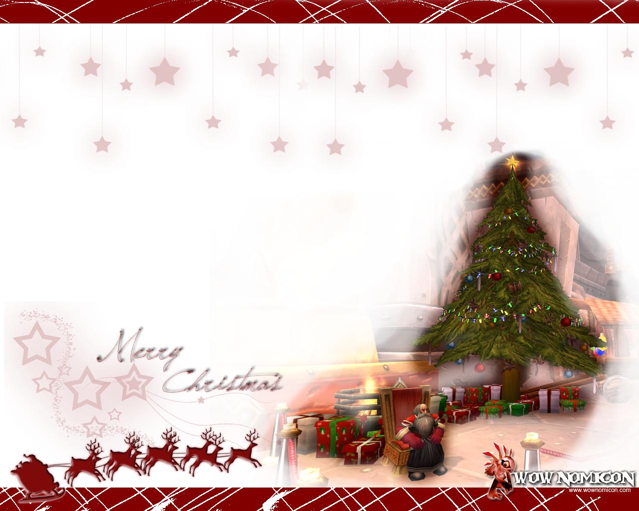 Merry Christmars! ¡Felíz Navidad¡ Bon Nadal!, llegó el Gran Padre Invierno a Azeroth…. bueno llegaron dos Padres Inviernos y para celebrarlo os dejo otro Wallpaper, me quedó más curso de...