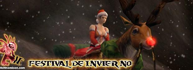 Llega el Festival de Invierno a World Of Warcraft, o así lo llaman aunque todos sabemos que es Navidad y que el Gran Padre de Inviernono se llama Santa...
