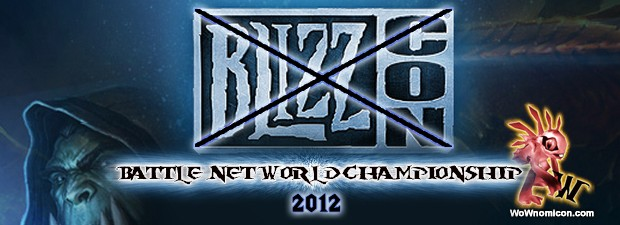 We lose a Blizzcon, but we wona World Championship Battle!!!, but calm in 2013 the Blizzcon will return. Blizzard Entertainment is proud to announce the 2012 Battle.net World Championship, a...