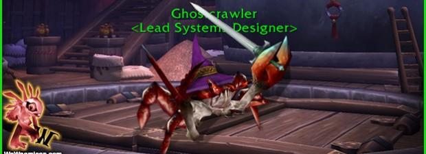 Ghostcrawler nos habla sobre sus dudas de cambiar o no el hecho de que haya clases puras DPS o como el Guerrero o DK (Dps/Dps/Tank) cuya rama de dps...