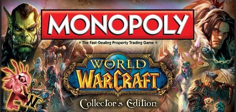 Blizzard se alia conUSAopoly para crear unMonopoly® de World Of Warcraft y unRisk® deStarCraft. Ambos juegos salieron a la luz en109th annual Toy Fair(la 109ª Feria del Juguete) de Nueva...
