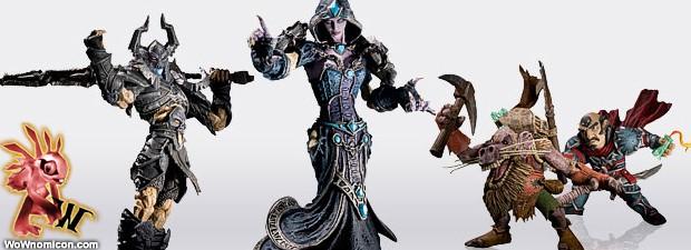 Ya a la venta las nuevas figuras Series 8 de World Of Warcraft. Cuestan 28.95 € son:  El Caballero Negro (19,05 cm), le recordareis de la Cruzada Argenta Confesora Dhalia (17,14...