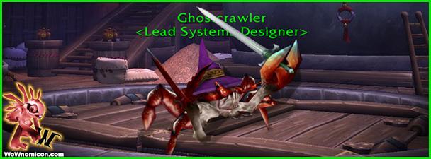 """Últimamente Blizzard nos llena a entrevistas, pero siempre es interesante que nos cuelen nueva información de futuros proyectos.Greg """"Ghostcrawler"""" Street el Diseñador Jefe de World Of Wacraft. Me gusta leerle..."""