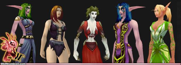 ¿Que son los bikinis? son esas prendas de World Of Warcraft que pese a tener los mismos stats entre hombres y mujeres pues en fin… parece que si lo...